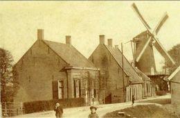 PAPENDRECHT (Z.-H.) - Molen/moulin - Zeldzame Opname Van De In 1918 Verdwenen Korenmolen 'De Hoop' - Pays-Bas