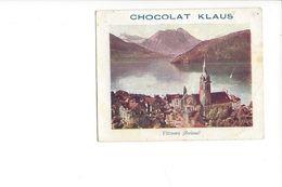 V11 - Chocolat Klaus Vitznau Petite Correspondance - LU Lucerne