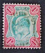 EDOUARD VII 1902/09 - OBLITERE - YT 67 - India (...-1947)