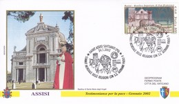 Italien 2002   Assisi. S.S. Giovanni Paolo II - Christianisme