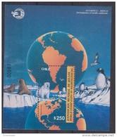 Chile 1989 World Expo Washington / Antarctica M/s ** Mnh (30385) - Chili