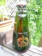 2 Liter Bierflasche Buxtehude, Biersiphon, Flasche, Formvariante 3, Leer  (465) - Kupfer
