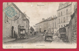 CPA Bruyères En Vosges - Rue D'Alsace - Bruyeres