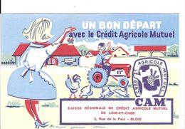UN BON DEPART AVEC LE CREDIT AGRICOLE MUTUELE  LOIR& CHER - Agriculture