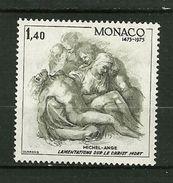 """MONACO  1975    N° 1034   """"500ème Anniv.de La Naissance De Michel-Ange ( 1475-1564 ) """"      NEUF - Unused Stamps"""