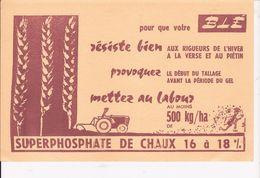 SUPERPHOSPATE DE CHAUX  16 A18  POUR CENT   BLE - Agriculture