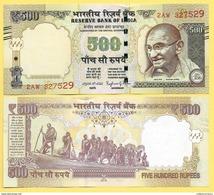 India 500 Rupees P-106 2016 Letter R UNC - India