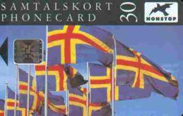 TK18964 ALAND Islands - Chip Flags - Aland