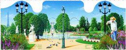 """Bloc De Timbre """"Jardins De France"""" Le Salon Du Timbre 2004 N° 70 - Sheetlets"""
