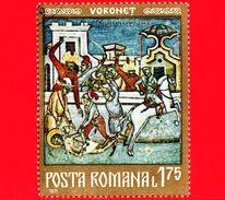 Nuovo Oblit. - ROMANIA - 1971 - Affreschi Moldavi - Monastero Di Voronet - Martirio E Morte Di San Giovanni - 1.75 - 1948-.... Republics