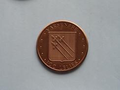 VARSENARE - 100 Lelies ( Bronskleur - Details, Zie Foto ) - Tokens Of Communes