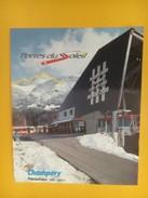 4358 - Portes Du Soleil Téléphérique Champéry Planachaux Assemblée 1993 Valais Suisse - Etiquettes