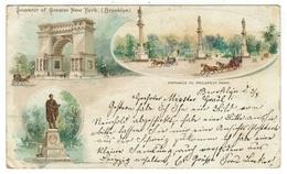 Etats-Unis // New York // East 14 Th Street (Carte Litho) - New York City