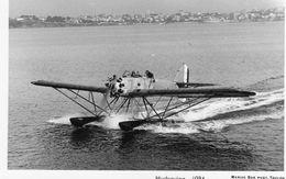 Hydravion  Gourdou Leseurre Avant Le Décollage  -  1934  -   Marius Bar  Photo Carte  -  CP - 1919-1938: Entre Guerres