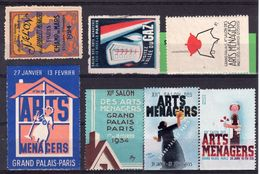 SALON ARTS MÉNAGERS PARIS / 1933 /34 /35 /36 /49 + APPAREILS MÉNAGERS 1924 - Ohne Zuordnung