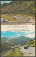 The Devil's Elbow, Glen Shee, Perthshire, 1968 - Postcard - Perthshire