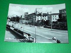 Cartolina Rimini - Lungomare E Hotel Excelsior 1956 - Rimini