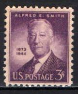 STATI UNITI - 1945 - ALFRED E. SMITH  - NUOVO MNH - United States