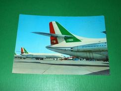 Cartolina Aviazione Volo Alitalia Airlines - Caravelle VI S. E. 210 - Cartoline