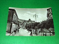 Cartolina Scicli - Via Nazionale 1954 - Ragusa
