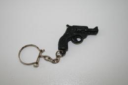 Vintage TOY GUN :  SPL 44 - L=4,5cm - Keychain 1960s-70s - Keywords : Cap - Cork Gun - Rifle - Revolver - Pistol - Tin - Armes Neutralisées