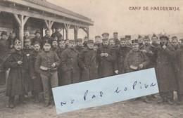 CAMP DE HARDERWIJK  ( 1/6 )     Photo 13,5 Cm X 8,7 Cm ) - 1914-18