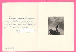 V° Aerobrigata Villafranca  Auguri 1954 Aeronautica Aviazione Aviation Airplane - Other