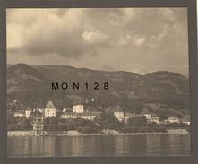 AUTRICHE - MILLSTATT AM SEE - PHOTO AOUT 1951-17,5x14 Cms -COLLEE SUR CARTON NOIR - Plaatsen