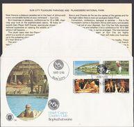 1980 - Bophuthatswana - ( Bantustan ) - Sun City - Hotel Casino Country Club - Mi:ZA-BP 64_67 - FDC - Bophuthatswana