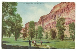 Etats-Unis // Wyoming // Palisade Park. Green River - Green River