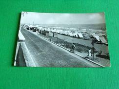 Cartolina Igea Marina - Viale Pinzon E Spiaggia 1954 - Rimini