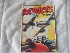 BD Petit Format RAPACES N° 208 By Imperia 1970 - Petit Format