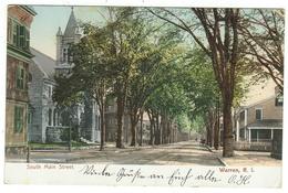 Etats-Unis // Ohio // Warren, R.I.  South Main Street - Etats-Unis