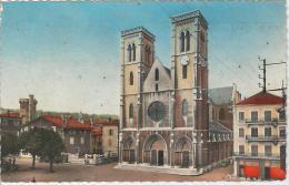 CPSM 38 - Bourgoin - L'Eglise - Bourgoin