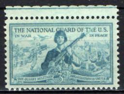 STATI UNITI - 1953 - GUARDIE IN TEMPO DI GUERRA ED IN TEMPO DI PACE - NUOVO MNH - United States