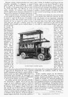 LE PREMIER OMNIBUS AUTOMOBILE PARISIENS     1905 - Transportation