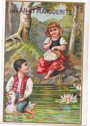 LOT De 3CHROMOS Jean Et Marguerite -A La Bergère Albert TEMINE à ALGER - Confactions Dames Fillettes - ENCH2906/358 - - Other