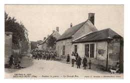 60 OISE - MERARD BURY Pendant La Guerre, La Grande-Rue - Otros Municipios