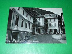 Cartolina Bognanco Terme - Albergo Centrale 1950 Ca - Verbania