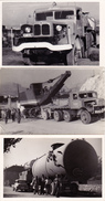 Lot 3 Old Photos - Large, Heavy Cargo Transport - Camion, Tir