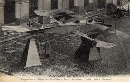 Aéroplan Taube Pris à L'ennemi  -  Exposition à L'Hotel Des Invalides à Paris  -  CPA - 1914-1918: 1. Weltkrieg