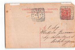 1738 01 LIVORNO RIO MARINA X PORTOLONGONE - ANNO 1911 - Entiers Postaux