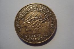 MONNAIE CAMEROUN 25 FRANCS AFRIQUE EQUATORIALE 1972 - Cameroon