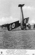 Monoplan Saulnier 'Le Jeanne D'Arc', Qui A Abattu Le Biplan Allemand 'Albatros' à Vaudemanges  -  CPA - 1914-1918: 1. Weltkrieg