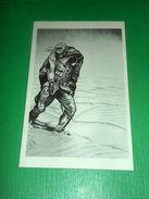 Cartolina Militaria WWI CRI - Medico Italiano In Guerra Disegno L. Apolloni #16 - Militari
