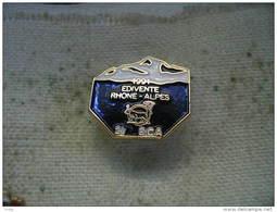 Pin´s 27e Bataillon De Chasseurs Alpins (27e BCA), 1991 Edivente Rhone - Alpes - Army