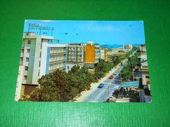 Cartolina Rivazzurra Di Rimini - Viale Regina Margherita 1966 - Rimini