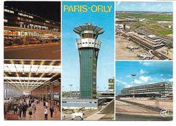 AEROPORT De PARIS-ORLY - L'aérogare Sud Et La Tour De Contrôle - Aérodromes