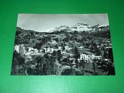 Cartolina Valtournanche - Frazione Evette - Sfondo Becca D' Haran 1955 Ca - Italy