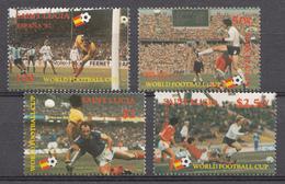 St. Lucie 1982 Mi. Nr.:573-576 Fussballweltmeisterschaft, Spanien  Neuf Sans Charniere / Mnh / Postfris - St.Lucie (1979-...)